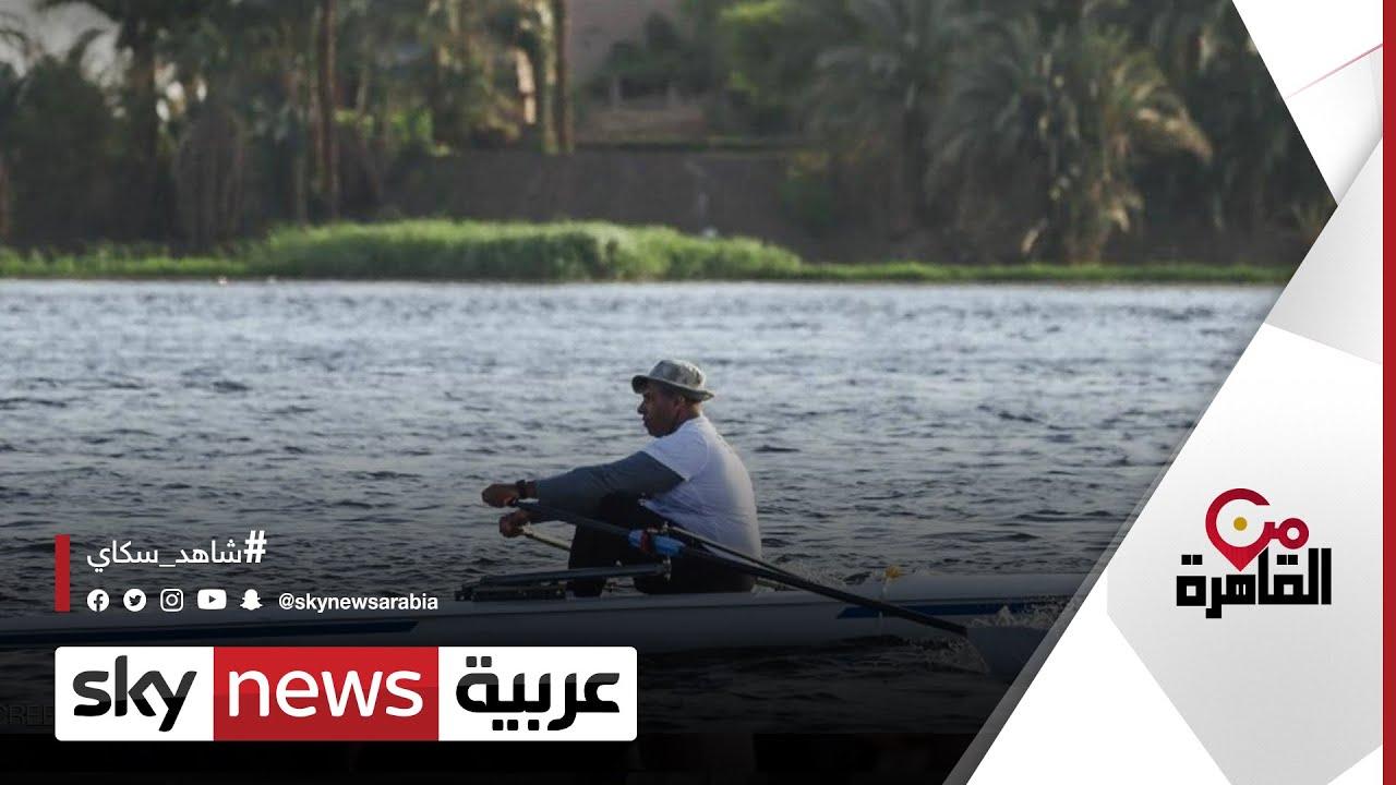 من أسوان إلى دمياط.. أطول رحلة تجديف في نهر النيل | #من_القاهرة  - نشر قبل 8 ساعة