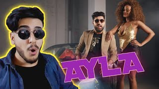 کاردانەوەم لەسەر گۆرانیە نوێیەکەی نەڤید زەردی ئەیلا  Navid Zardi AYLA ft Abba Karib (REACTION)