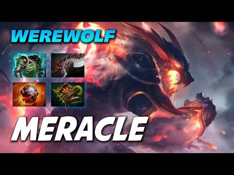 MERACLE LYCAN WEREWOLF - Dota 2 Pro Gameplay