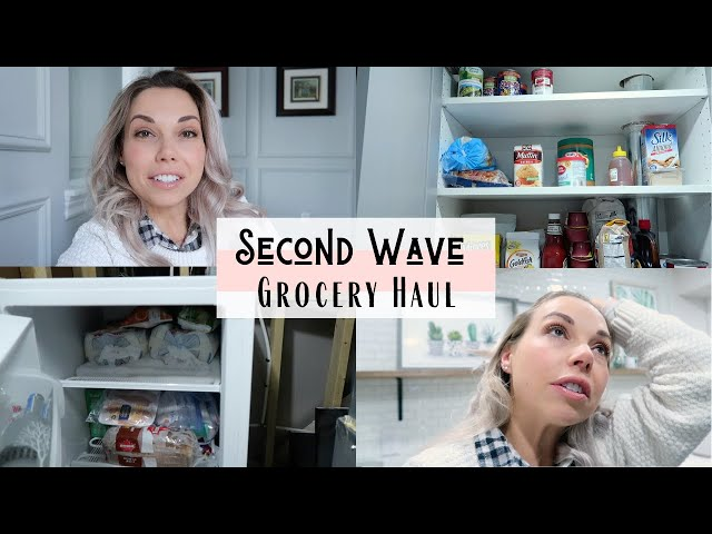 Grocery Haul & Meal Planning For A Large Family | Second Wave Preparation