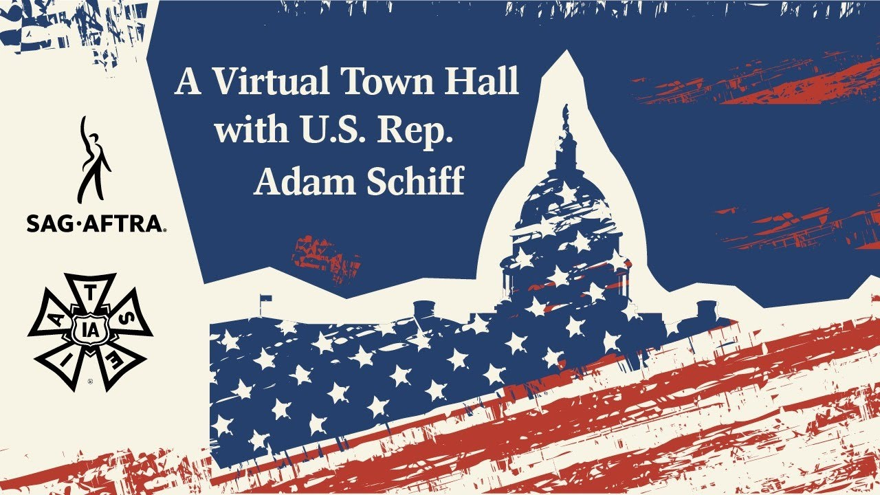 A Virtual Town Hall with U.S. Rep. Adam Schiff