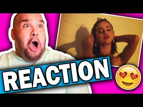 Selena Gomez, Marshmello - Wolves (Music Video) REACTION