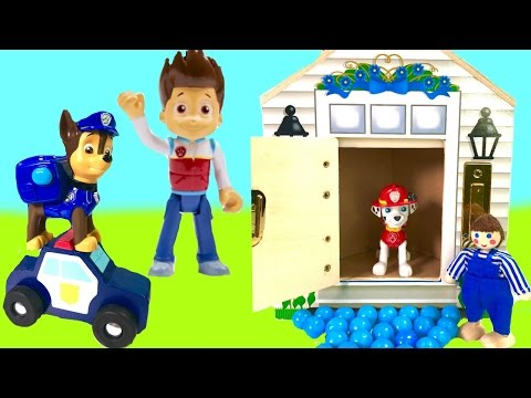 Paw Patrol Gumball Dollhouse! Learn Colors and Find Toys | Fizzy Toy Show
