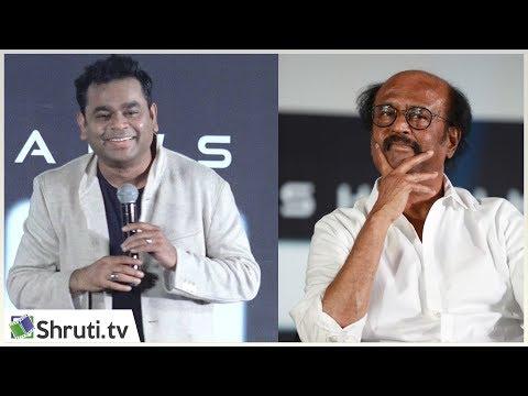 Anirudh கேள்வி ; பிடித்த Hero Rajinikanth மட்டுமே! - Rahman speech | 2.0 Trailer Launch | 2POINT0