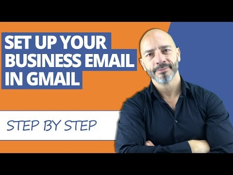 How To Setup Your Business Email in Gmail