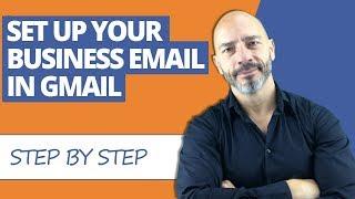 Zum Einrichten Ihres Geschäfts-E-Mails in Gmail (2018)