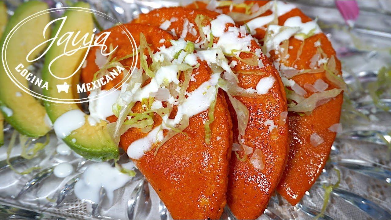 Enchiladas Potosinas  YouTube