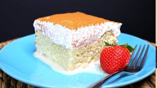 Tres Leches Cake -  Original Mexican Recipe