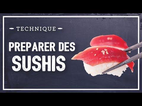 Sushi : faire des sushis