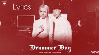 Drummer Boy (Cover by Gavin Magnus & Coco Quinn) - LYRICS - Justin Bieber & Busta Rhymes
