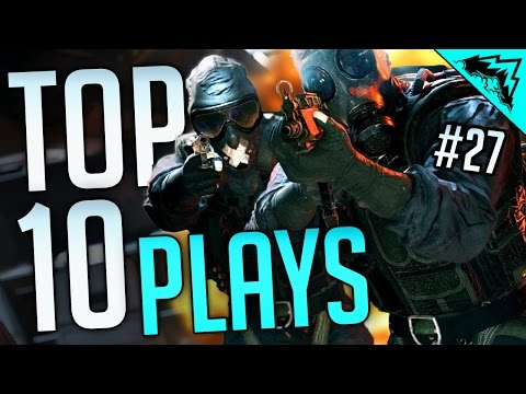 TRICKS OF THE TRADE - Top 10 Rainbow 6 Siege FUNNY and EPIC Kills  (Bonus Plays #27)