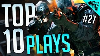 tricks of the trade top 10 rainbow 6 siege funny and epic kills bonus plays 27