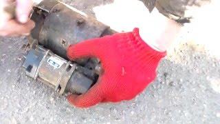Разборка стартера ВАЗ старого образца.Dismantling the starter VAZ old model.