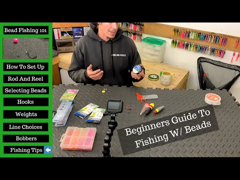 Winter Steelhead Fishing With Beads | BEGINNERS | Steelhead Bead Fishing Set Up 4K