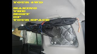 YOUR 4WD - MAKING THE MOST OF THAT UNUSED SPACE - GO UP !