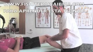 Rodilla desbloqueo lateral osteopatia