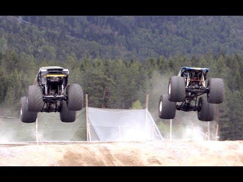 MONSTER RACE FINAL - THOR VS PUTTE 2!