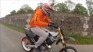 Derbi senda moteur KTM 85 SX (n°4)