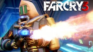 Far Cry 3 Blood Dragon Gameplay: Cyber Shooter