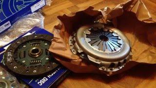 Обзор и распаковка комлекта сцепления Valeo GMK-057
