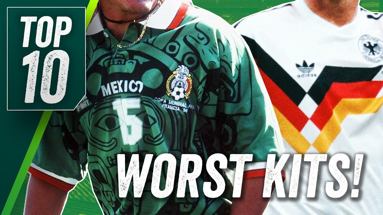 Top 10 Worst World Cup Football Kits Ever 2fc1fc0b0