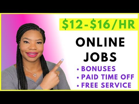 Work-From-Home Job. Paid Training & Bonuses! FREE TV Service | Online, Remote Work-At-Home Jobs 2019