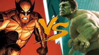 HULK VS WOLVERINE l (Batalha de RAP) ♫ - Batalha de RAP #21 ♫