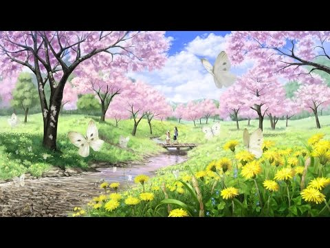 Relaxing Anime Piano Music - Spring Flowers