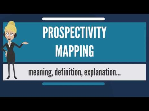 What is PROSPECTIVITY MAPPING? What does PROSPECTIVITY MAPPING mean?