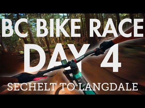 BC Bike Race - Day 4 - Sechelt to Langdale | Best stage of the race?