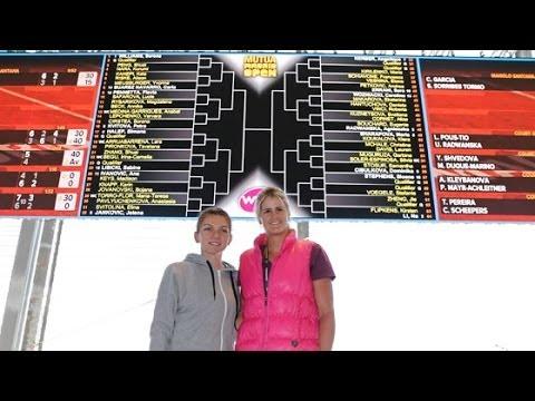 cuadro WTA / WTA draw