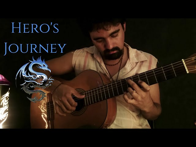 28. Hero's Journey (BrunuhVille) - Classical Guitar by Luciano Renan