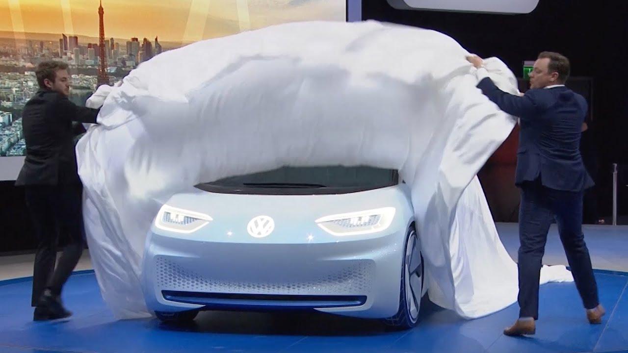 Volkswagen I.D. Concept – World Premiere at the Paris Motor Show