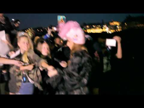 Lady Gaga anländer till Grand Hotel, Stockholm