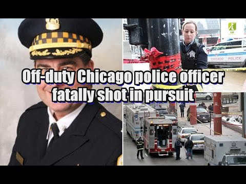Off-duty Chicago police officer fatally shot in pursuit