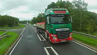 A Lengthy Unload and Scott Andrews on the road
