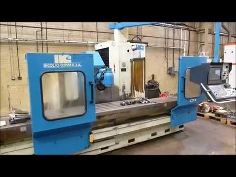 Correa 22/25 CNC Bed Mill
