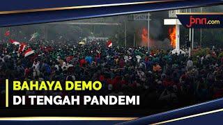 Awas, Demo Berisiko Tinggi Terpapar Covid-19 - JPNN.com