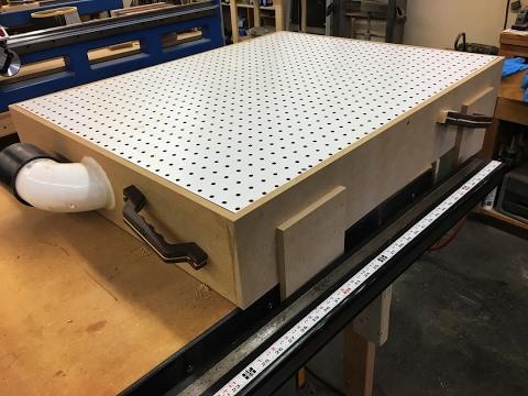 Making A Downdraft Sanding Box 2 12 17 Youtube