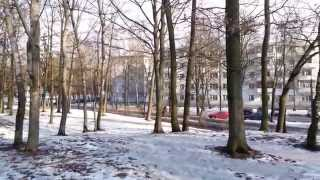 20150223 көшесі Ландера станциясы, Курасовщина, Брест-Литва темір жол, Минск, Беларусь