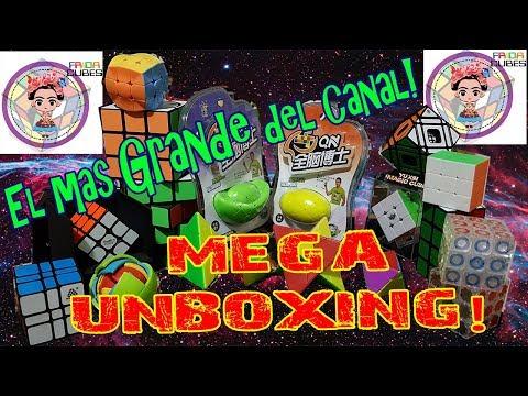 El Unboxing mas grande del canal! 18 cubos y muchos spinners! jajaja