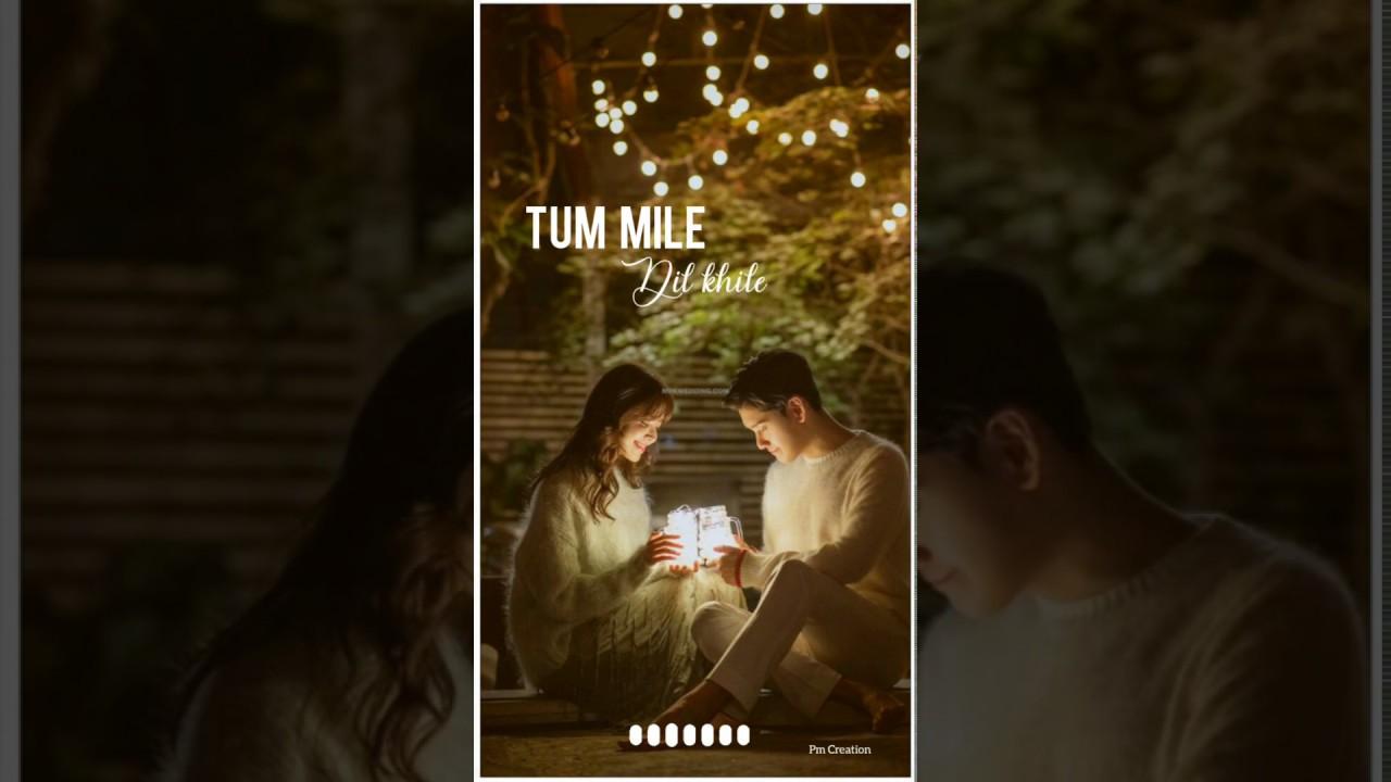 Download Tum Mile Dil khile #trending song 😄   Raj Barman    whatsapp status