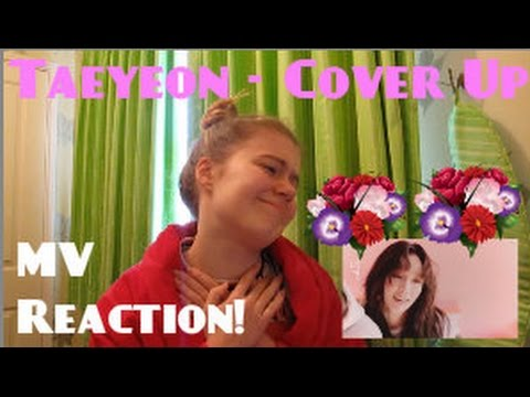 Taeyeon/태연 - Cover Up Lyric MV Reaction - Hannah May