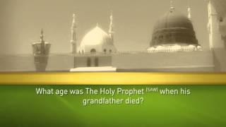 Holy Prophet (SAW) Quiz 14
