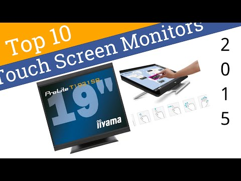 10 Best Touch Screen Monitors 2015