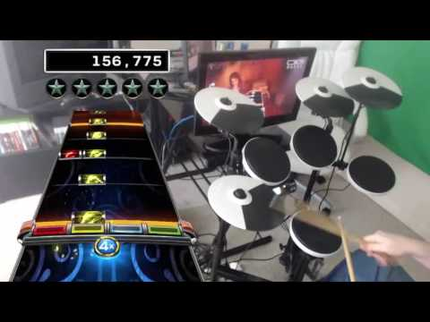 ACDC  Thunderstruck  241k 100% FC Expert Drums RB4