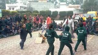 Lohri celebration at Geeta sr.sec.school samalkha