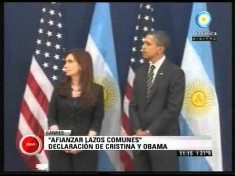 Cristina y Obama se reunieron y destacaron los lazos que unen a ambos países