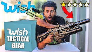 Download I Bought ALL The WORST Rated TACTICAL GEAR On Wish!! *MYSTERY PACKAGES* Mp3 and Videos