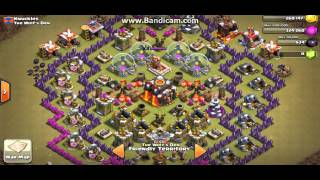 1st Ever video !! My clash of clans defence and showing you my clan.